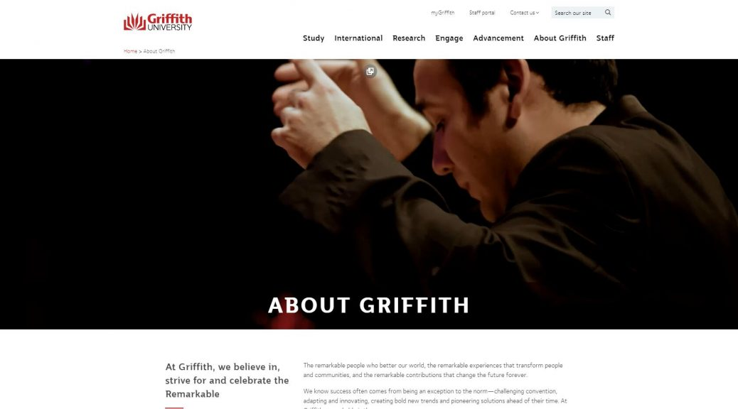 About Griffith - Griffith University