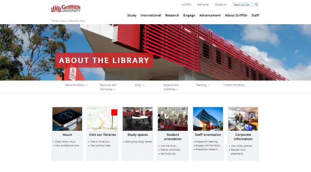 About the library - Griffith University