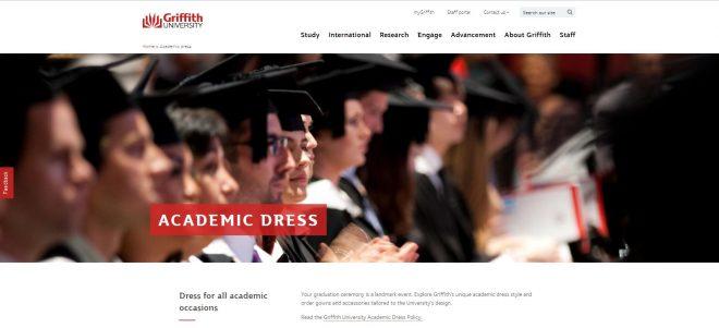 Academic dress - Griffith University