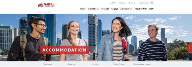 Accommodation - Griffith University