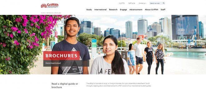 Brochures - Griffith University