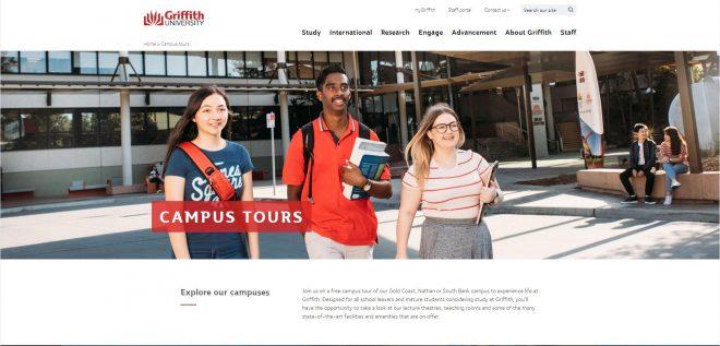 Campus tours - Griffith University