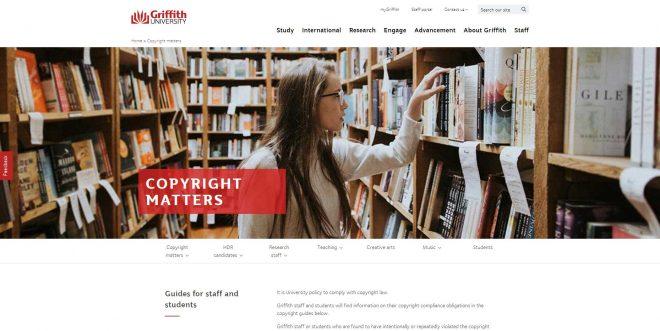 Copyright matters - Griffith University