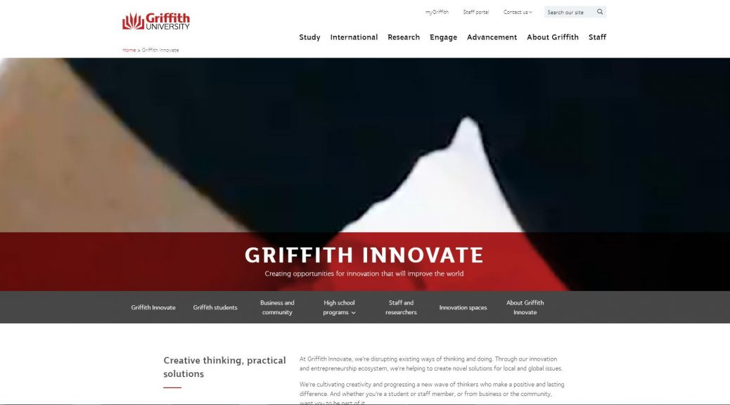 Griffith Innovate - Griffith University
