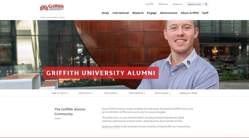 Griffith University alumni