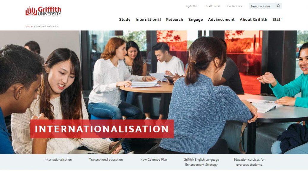 Internationalisation - Griffith University