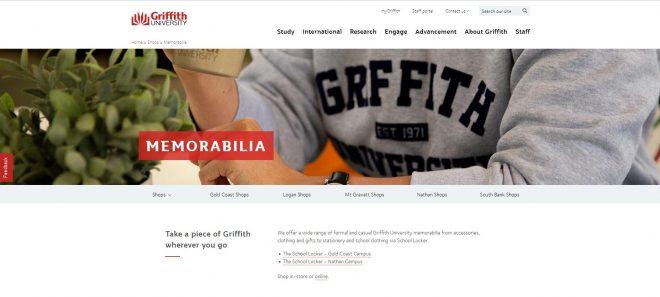 Memorabilia - Griffith University