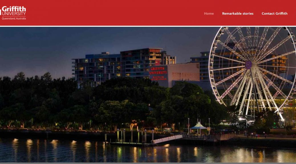 Remarkable – Griffith University