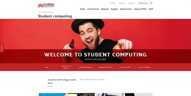 Student computing - Griffith University