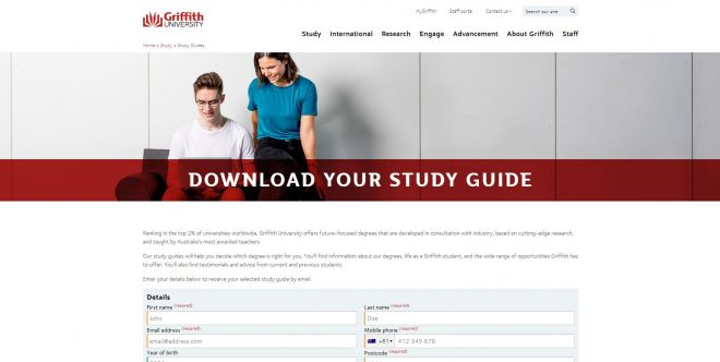 Study Guides - Griffith University
