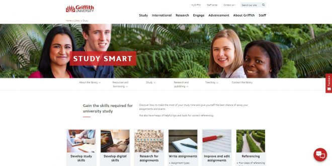 Study Smart - Library - Griffith University