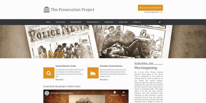 The Prosecution Project – Griffith University