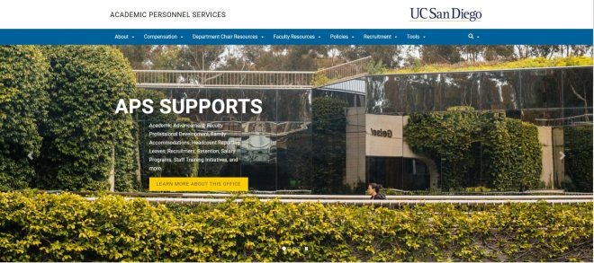 UCSD Academic Personnel Services