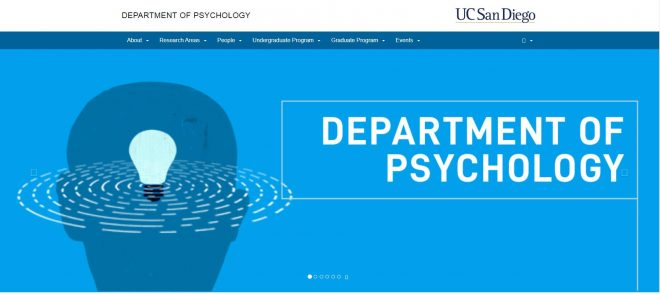 UCSD Department of Psychology