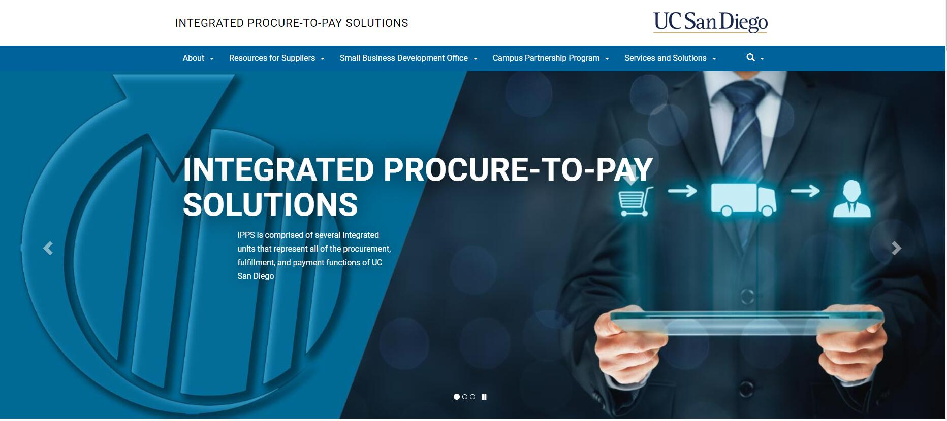 UCSD Integrated Procure-to-Pay Solutions