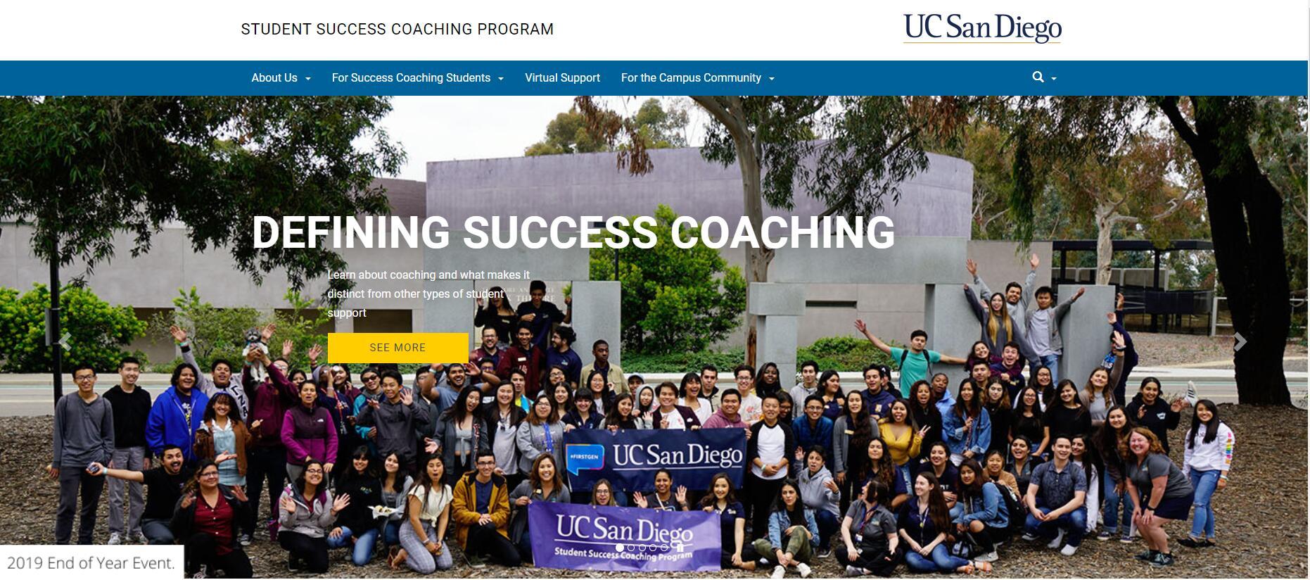 UCSD Student Success Coaching Program