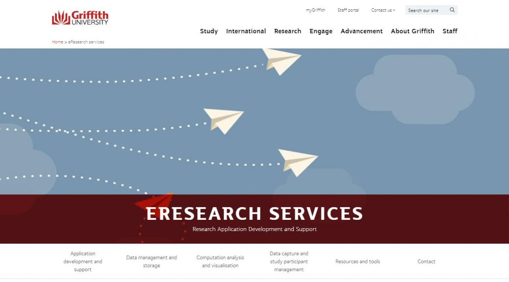 eResearch services - Griffith University